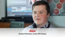 Alex case study - a filmmaking internship