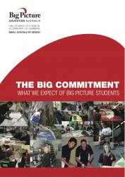 The Big Commitment – What we expect of Big Picture students.